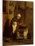 The Little Housekeeper by Pierre Edouard Frere