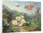 Wild Flowers and Butterfly by Jean-Marie Reignier