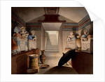 View of an Etruscan Tomb, 1849 by Henri Labrouste