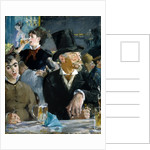 At the Cafe by Edouard Manet