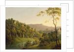 View in Matlock Dale, Looking Towards Black Rock Escarpment by Joseph Wright of Derby