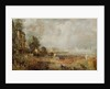 The Opening of Waterloo Bridge by John Constable