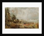 The Opening of Waterloo Bridge by John Constable