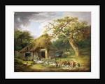 The Old Water Mill by George Morland