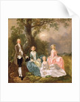 Mr and Mrs John Gravenor and their Daughters, Elizabeth and Ann by Thomas Gainsborough