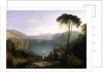 Lake Avernus: Aeneas and the Cumaean Sibyl by Joseph Mallord William Turner