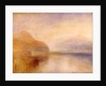 Inverary Pier, Loch Fyne, Morning by Joseph Mallord William Turner