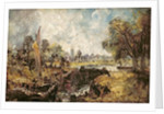 Dedham Lock by John Constable