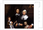 Portrait of a Family, Probably that of Richard Streatfeild by William Dobson
