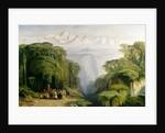 Kinchinjunga from Darjeeling by Edward Lear