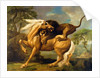A Lion Attacking a Horse by George Stubbs