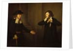 Shylock and Tubal by Herbert Stoppelaer