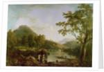 Dinas Bran from Llangollen by Richard Wilson