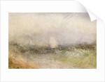 Off the Nore: Wind and Water by Joseph Mallord William Turner