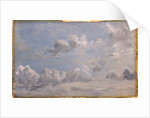 Study of Cumulus Clouds by John Constable