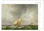 A Cutter in a Strong Breeze by Charles Brooking