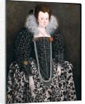 Portrait of a Woman by English School