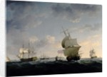 Shipping in the English Channel by Charles Brooking