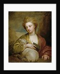 Portrait of a Woman as St. Agnes, traditionally identified as Catherine Voss by Sir Godfrey Kneller