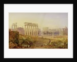 Across the Forum, Rome by Hugh William Williams