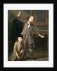 Two Boys of the Nollekens Family, Probably Joseph and John Joseph, Playing at Tops by Joseph Francis Nollekens