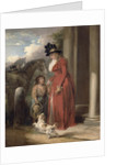 The Squire's Door by George Morland