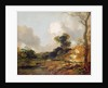 Landscape with Stream and Weir by Thomas Gainsborough