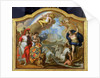 Allegory of the Power of Great Britain by Sea, design for a decorative panel for George I's ceremonial coach by Sir James Thornhill