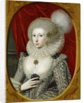Portrait of a woman, possibly Frances Cotton, Lady Montagu, of Boughton Castle, Northamptonshire by Robert