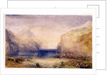 Fluelen: Morning (looking towards the lake) by Joseph Mallord William Turner