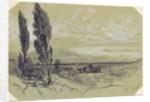 Genezzano by Edward Lear