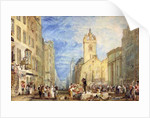 High Street, Edinburgh by Joseph Mallord William Turner