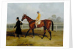 Sir Tatton Sykes Leading in the Horse 'Sir Tatton Sykes', with William Scott Up by Harry Hall