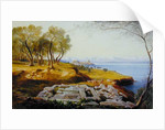 Corfu from Ascension by Edward Lear
