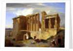 The Erechtheum, Athens, with Figures in the Foreground by Sir Charles Lock Eastlake