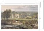 View of Hampton Court, Herefordshire by Joseph Mallord William Turner