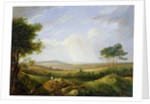 Landscape with Figures by Captain Thomas Hastings