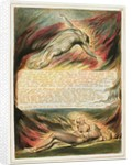 'Then the Divine Hand...' by William Blake