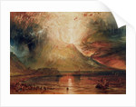 Mount Vesuvius in Eruption by Joseph Mallord William Turner