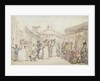 Covent Garden Market by Thomas Rowlandson