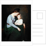 Ann Wilson with her Daughter, Sybill by George Romney