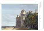 The North Terrace, Windsor Castle, looking East by Paul Sandby
