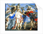Mars Introduced by Minerva to Occasion, accompanied by Ceres, after a painting by Peter Paul Rubens by Bernard III Lens