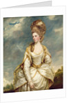 Miss Sarah Campbell by Sir Joshua Reynolds