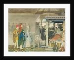 Fredegonda at the Deathbed of Praetextatus by Sir Lawrence Alma-Tadema