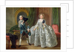 David Garrick and Mrs Pritchard in 'The Suspicious Husband' by Benjamin Hoadley by Francis Hayman