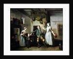 David Garrick and Mary Bradshaw in The Farmer's Return by Johann Zoffany