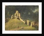 Corfe Castle, Dorset by John Inigo Richards