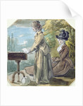 Lady Francis Scott and Lady Elliot by Paul Sandby