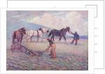 The Turn-Rice Plough by Robert Polhill Bevan